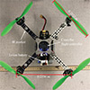 Multi-rotor In-Ground-Effect Modeling and Adaptive Nonlinear Disturbance Observer for Closed-loop UAV Control