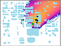 Particle swarm optimization for source localization in realistic complex urban environments
