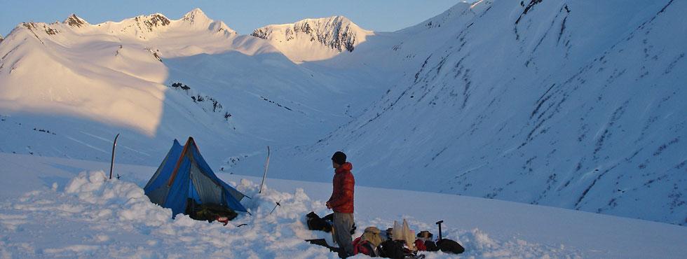 Kam in the Chugach Range